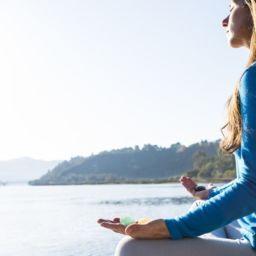 медитация, покой, счастье, успех