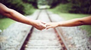 любовь, вместе, держась за руки