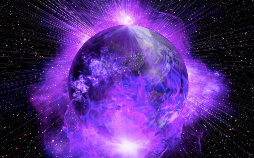 фиолетовое пламя земли